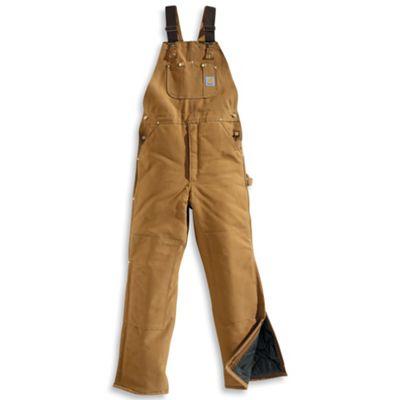 3046c5d2ca2c Carhartt Men s Arctic Quilt Lined Duck Bib Overall