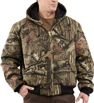 Carhartt Men's Quilted Flannel Lined Workcamo Active Jacket