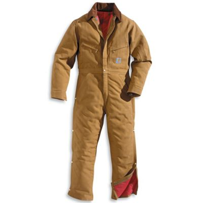 Carhartt Men's Quilt Lined Duck Coverall