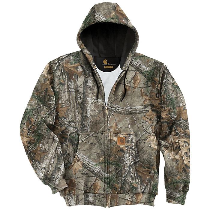 7ee6e4a732 Carhartt Men s Midweight Camo Hooded Zip-Front Sweatshirt - Moosejaw