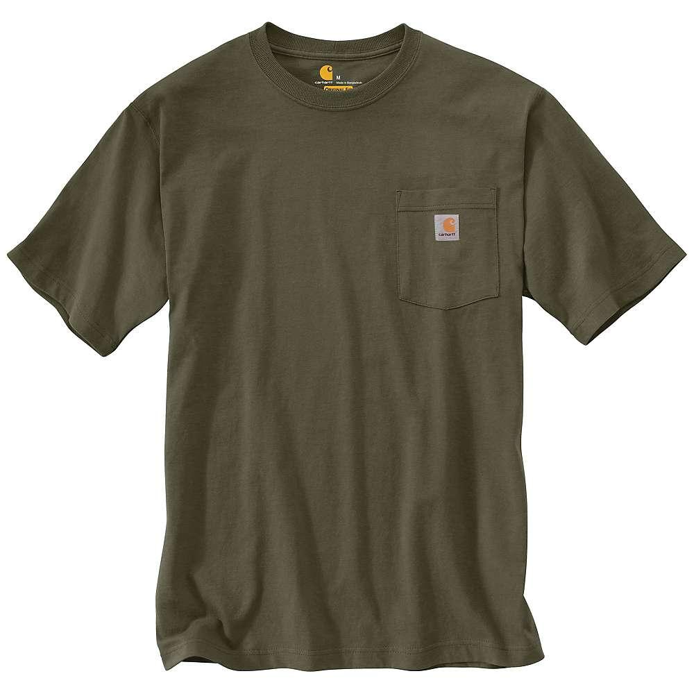 carhartt men 39 s workwear pocket ss t shirt mountain steals. Black Bedroom Furniture Sets. Home Design Ideas