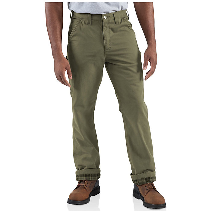 b816870d Carhartt Men's Washed Twill Dungaree Flannel Lined Pant - Moosejaw