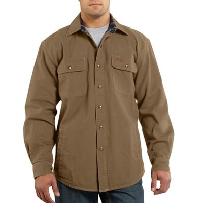 Carhartt Men's Weathered Canvas Shirt Jac