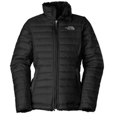 e10133954c The North Face Girls  Reversible Mossbud Swirl Jacket