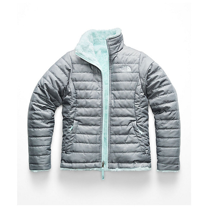 8e1f8e496c28 The North Face Girls' Reversible Mossbud Swirl Jacket