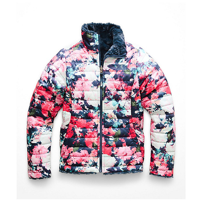 41ed70d3903d The North Face Girls  Reversible Mossbud Swirl Jacket - Moosejaw