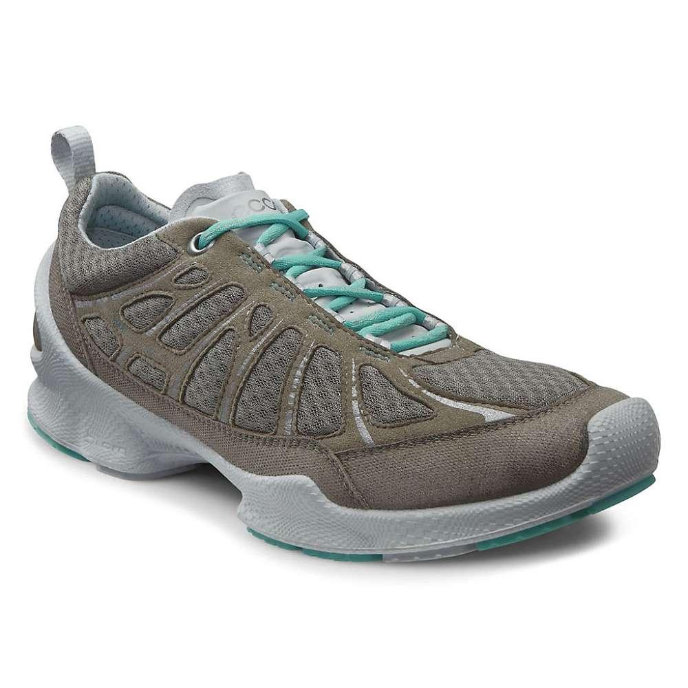 Womens Ecco Grey Running Shoes