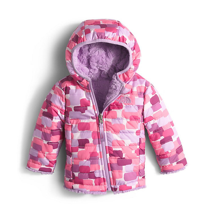 09ee2817bc0d The North Face Infant Reversible Mossbud Swirl Hoodie - Moosejaw