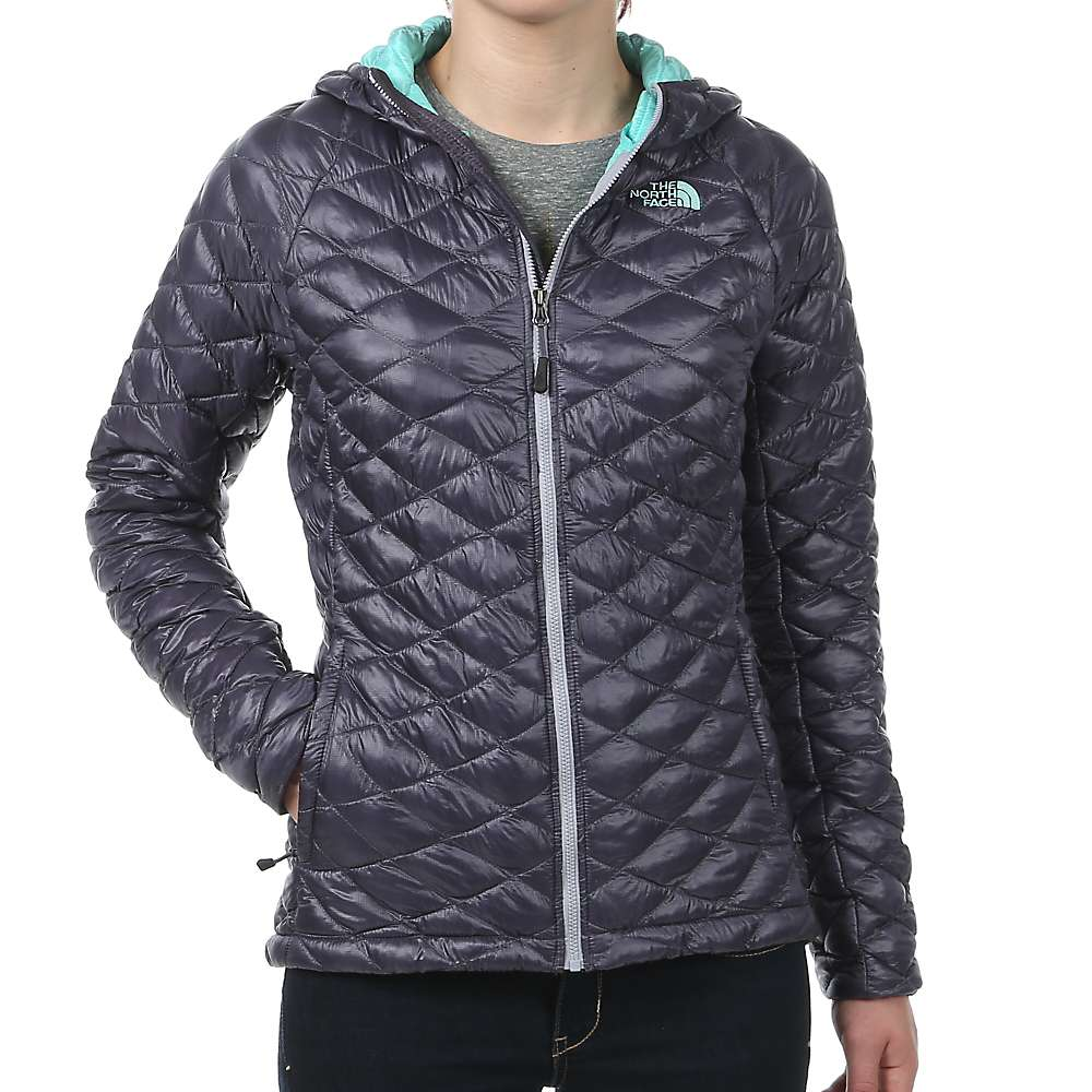 The north face women's thermoball jacket fanfare green