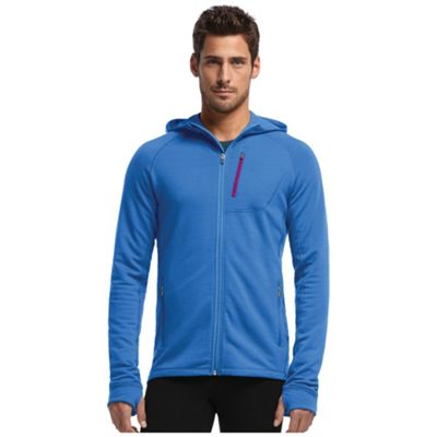 Icebreaker Men's Quantum Plus Long Sleeve Zip Hood