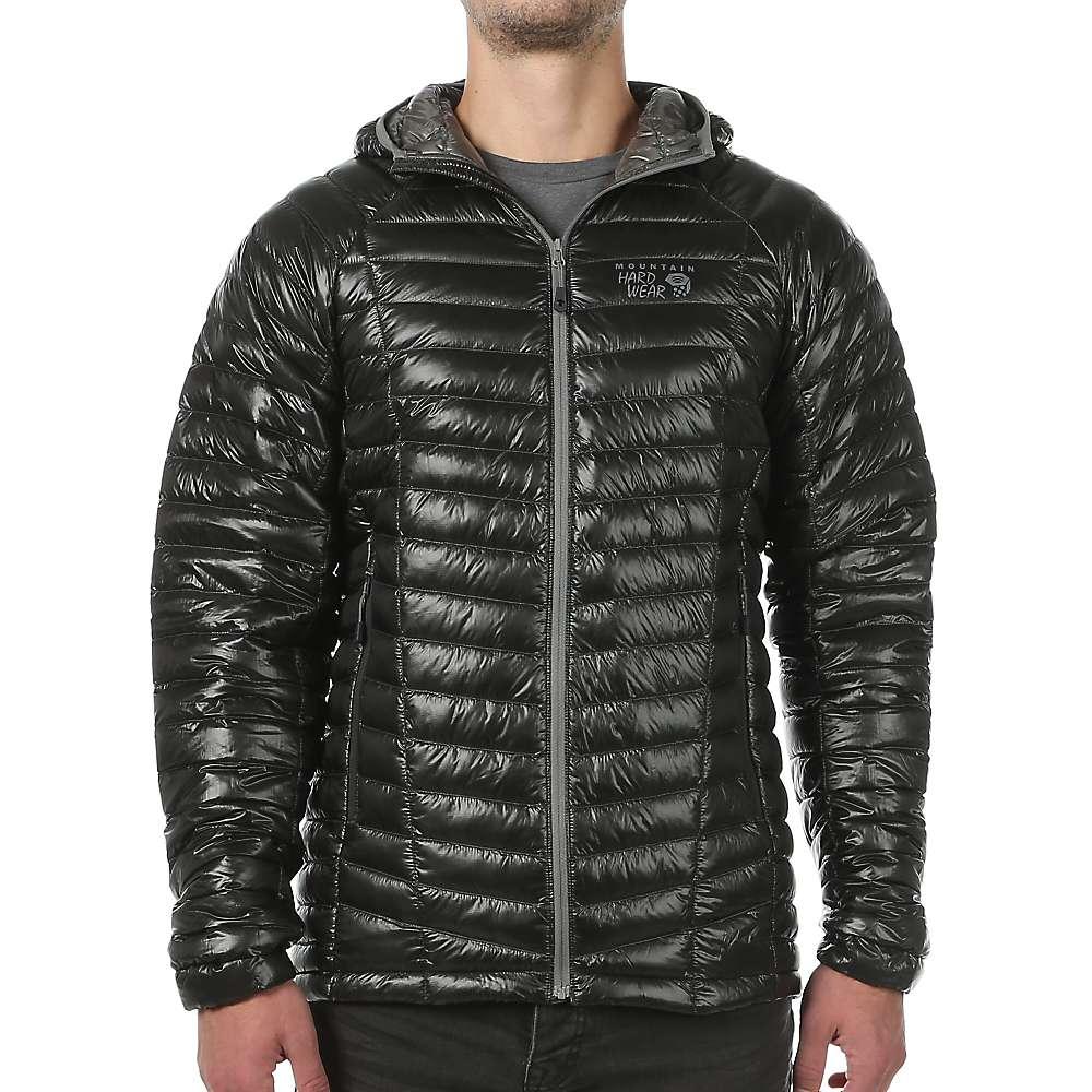 Mens down jacket with hood - Mountain Hardwear Men S Ghost Whisperer Hooded Down Jacket At Moosejaw Com