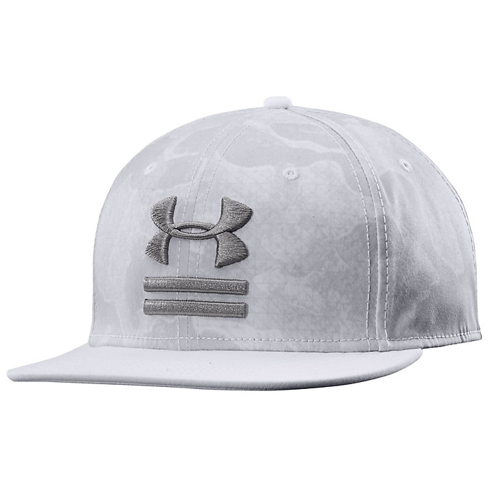 00e32f9a310 Under Armour Camo Flat Brim Hat - Moosejaw