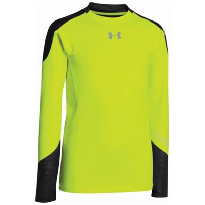 Under Armour Boys' UA ColdGear Infrared Multiplier Mock Shirt