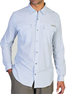 ExOfficio Men's Bugsaway Halo Check Long Sleeve Shirt