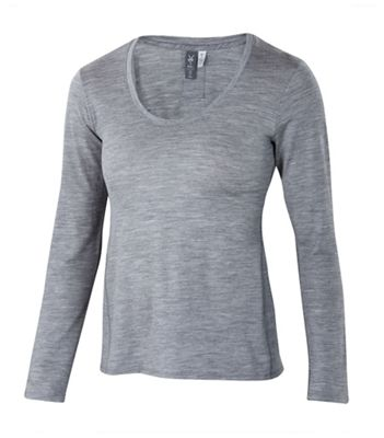 Ibex Women's OD Heather Crew