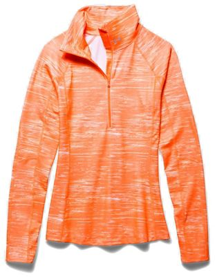 Under Armour Women's Coldgear Cozy Printed 1/2 Zip