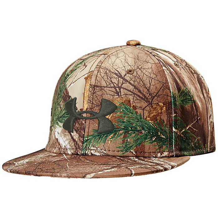 fad7da984a6 Under Armour Men s Camo Flat Brim Cap - Moosejaw