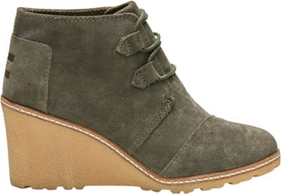 TOMS Women's Desert Wedge Boot