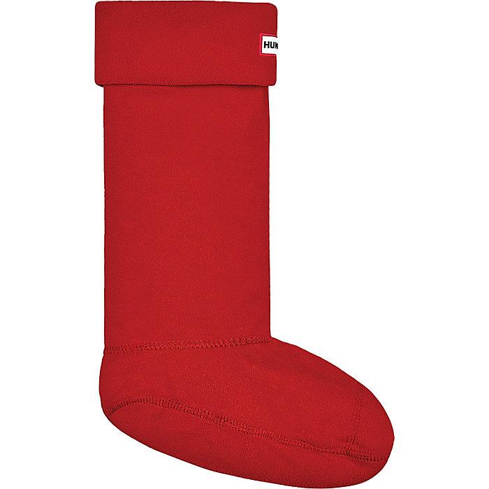 Medium Hunter Kids Fleece Welly Socks Cream