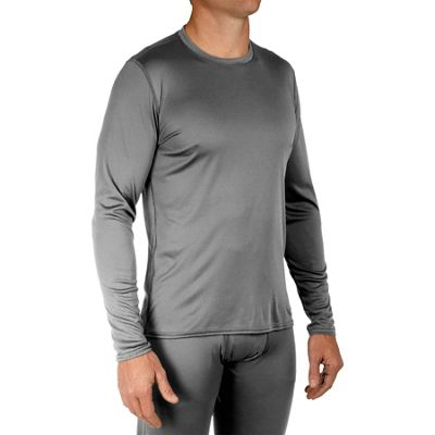 Hot Chillys Men's Peachskins Solid Crewneck