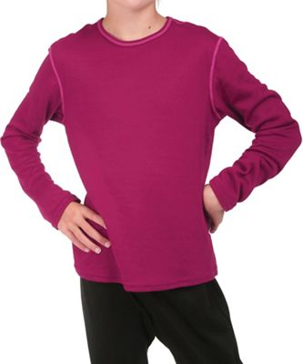 Hot Chillys Youth Pepper Bi-Ply Crewneck Top