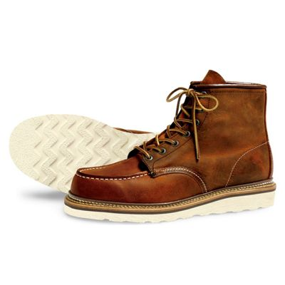 Red Wing Heritage Men's 1907 6-Inch Moc Toe Boot
