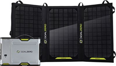 Goal Zero Sherpa 100 Solar Recharging Kit with Inverter
