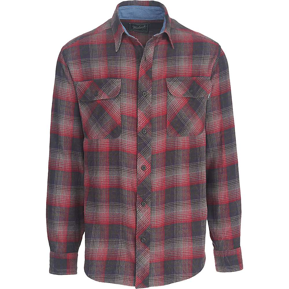 Woolrich men 39 s miners wash flannel shirt mountain steals for How to wash flannel shirts