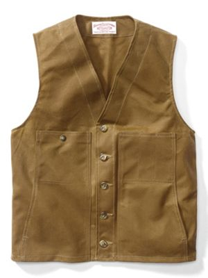 Filson Men's Oil Tin Cloth Vest