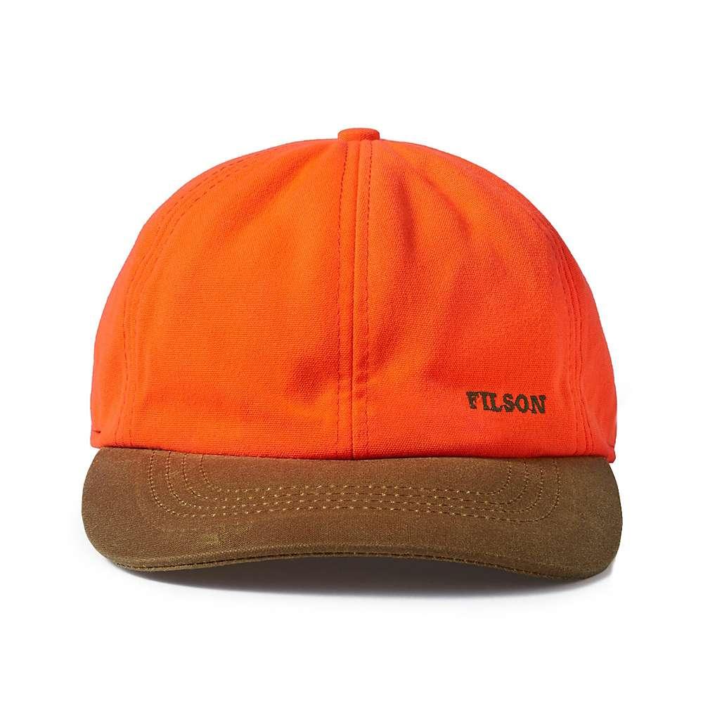 433346b176f Filson Blaze Orange Insulated Tin Cloth Cap