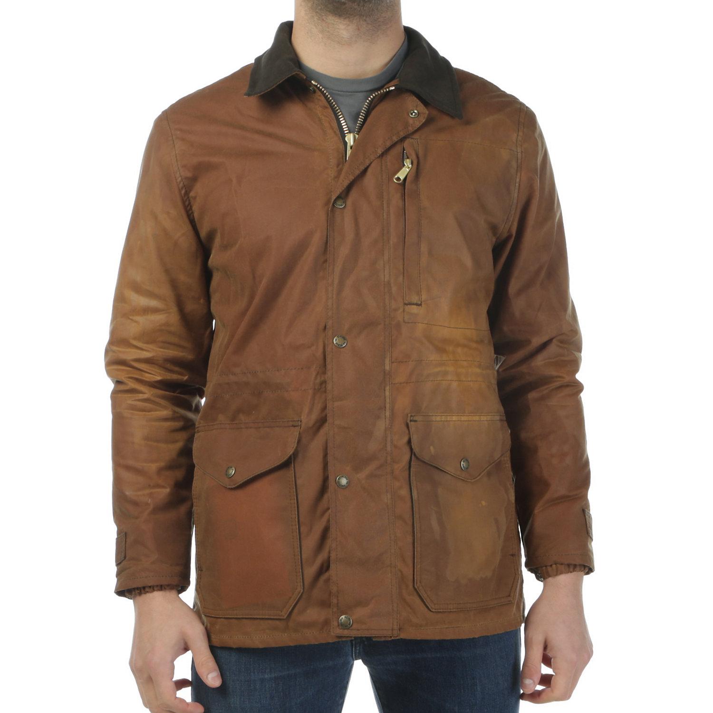 06383efa6 Filson Men's Cover Cloth Mile Marker Coat