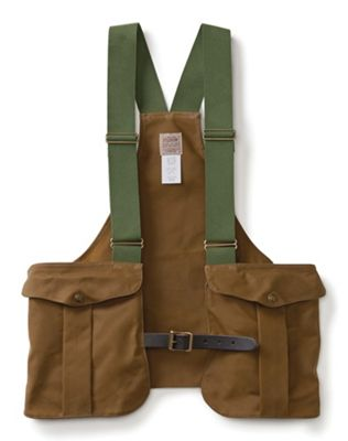 Filson Men's Tin Cloth Game Bag Vest