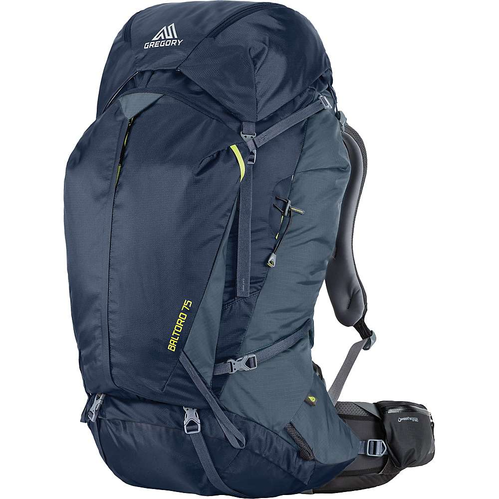 Gregory Mens Baltoro 75l Pack Moosejaw Bluetech Waterproff Bag