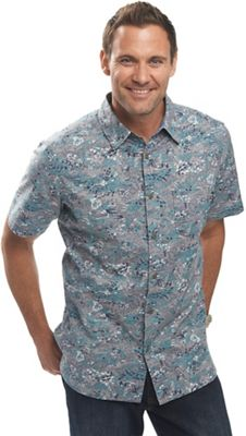 Woolrich Men's Off Road Printed SS Shirt
