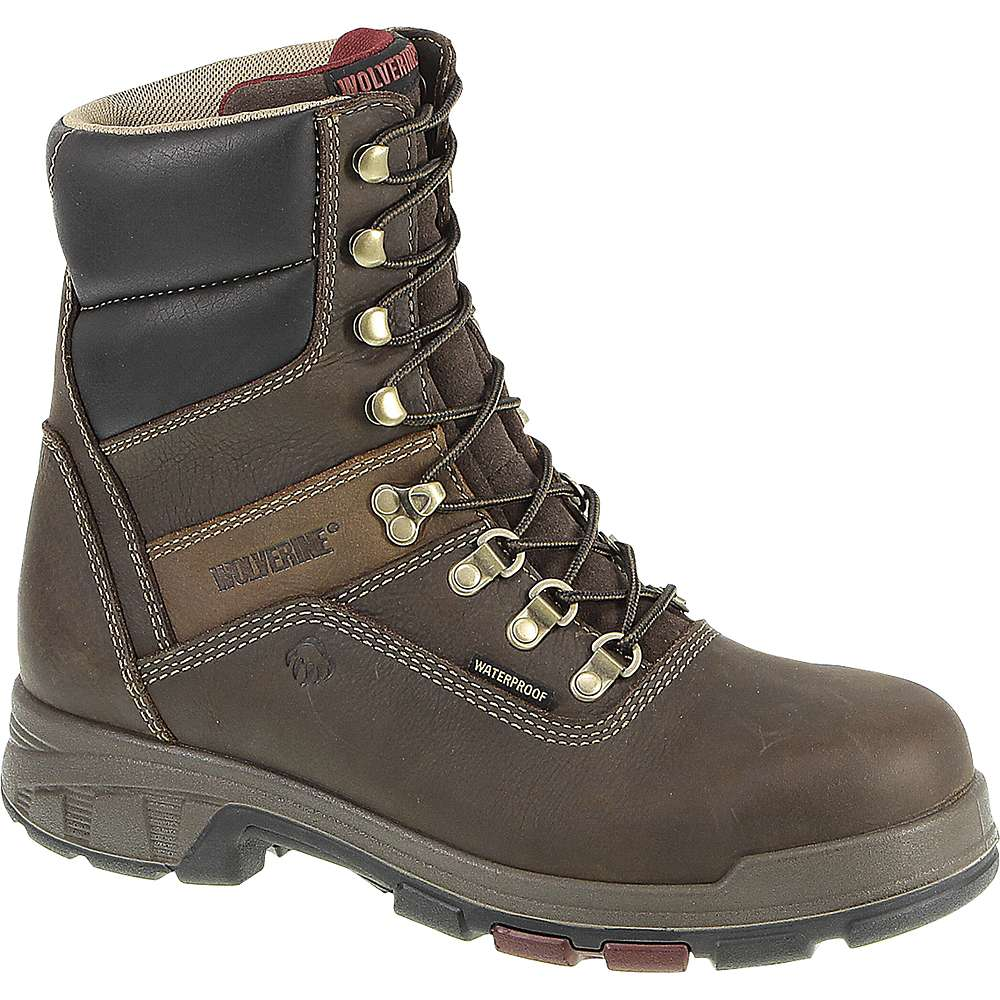 827f30c3d44 Wolverine Men's Cabor Waterproof 8IN Composite Toe Boot