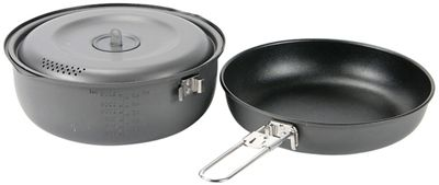 Snow Peak Hard Anodized Aluminum 1500 Cookset