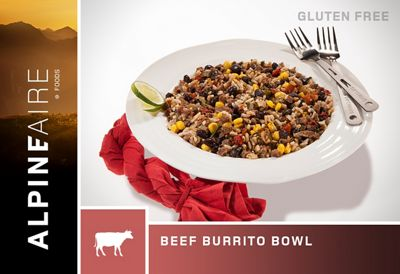 AlpineAire Beef & Rice Burrito Bowl