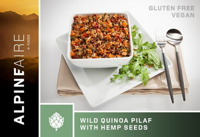 AlpineAire Wild Quinoa Pilaf with Hemp Crispies