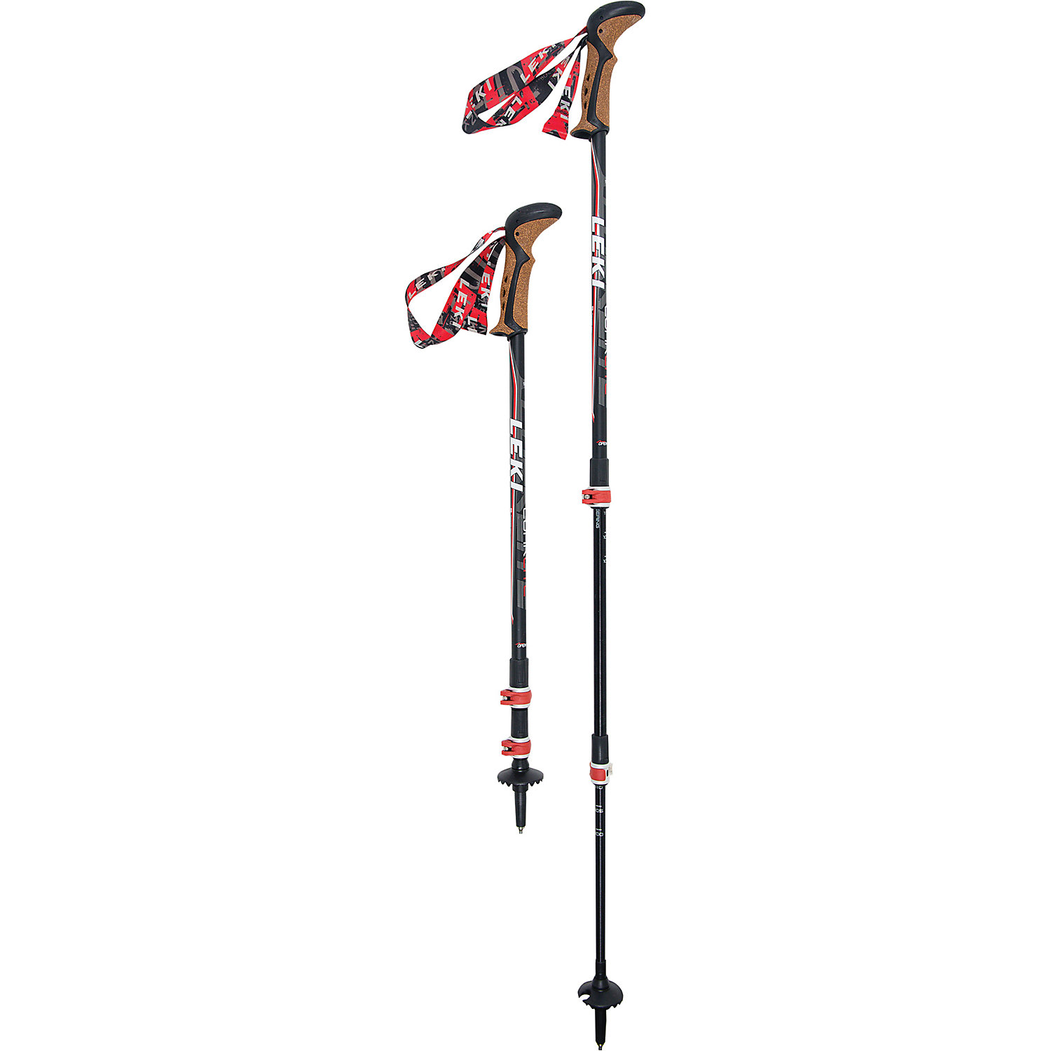 5c036b8b1cb Leki Corklite Speedlock Trekking Poles. Double tap to zoom. Black   Red    White