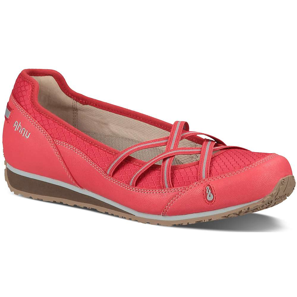 Ahnu Women's Crissy II Shoe. Cranberry. 0:00