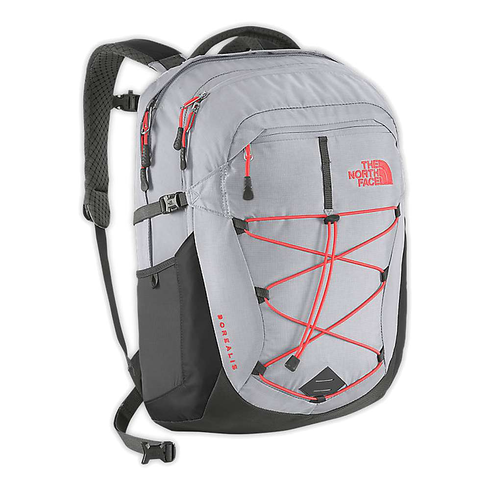 932375e12 North Face Backpack Grey And Purple - CEAGESP