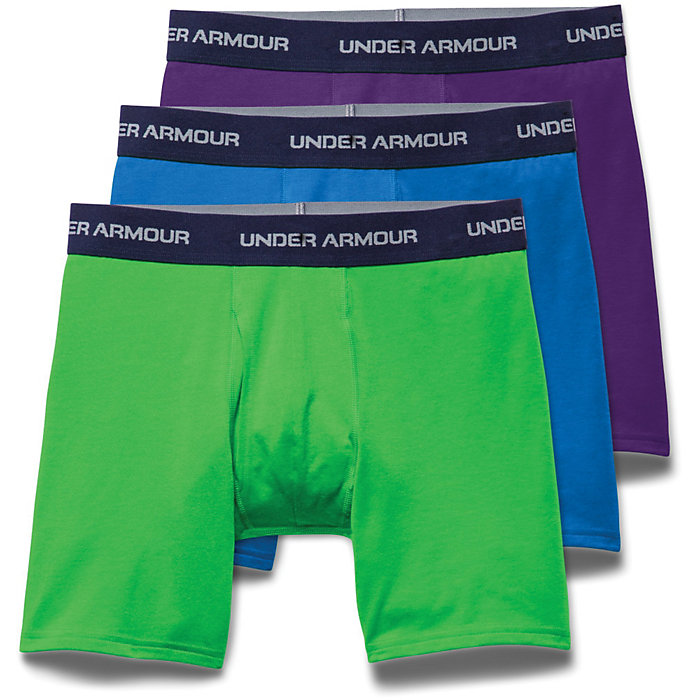 96ac1c0c Under Armour Men's Charged Cotton Stretch 6 Inch Boxerjock 3 Pack ...