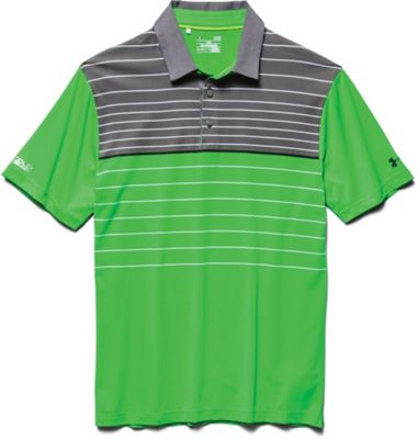 Under Armour Men's Coldblack Hammer Stripe Polo