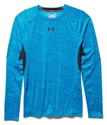 Under Armour Men's HeatGear Armour Compression Printed LS Tee