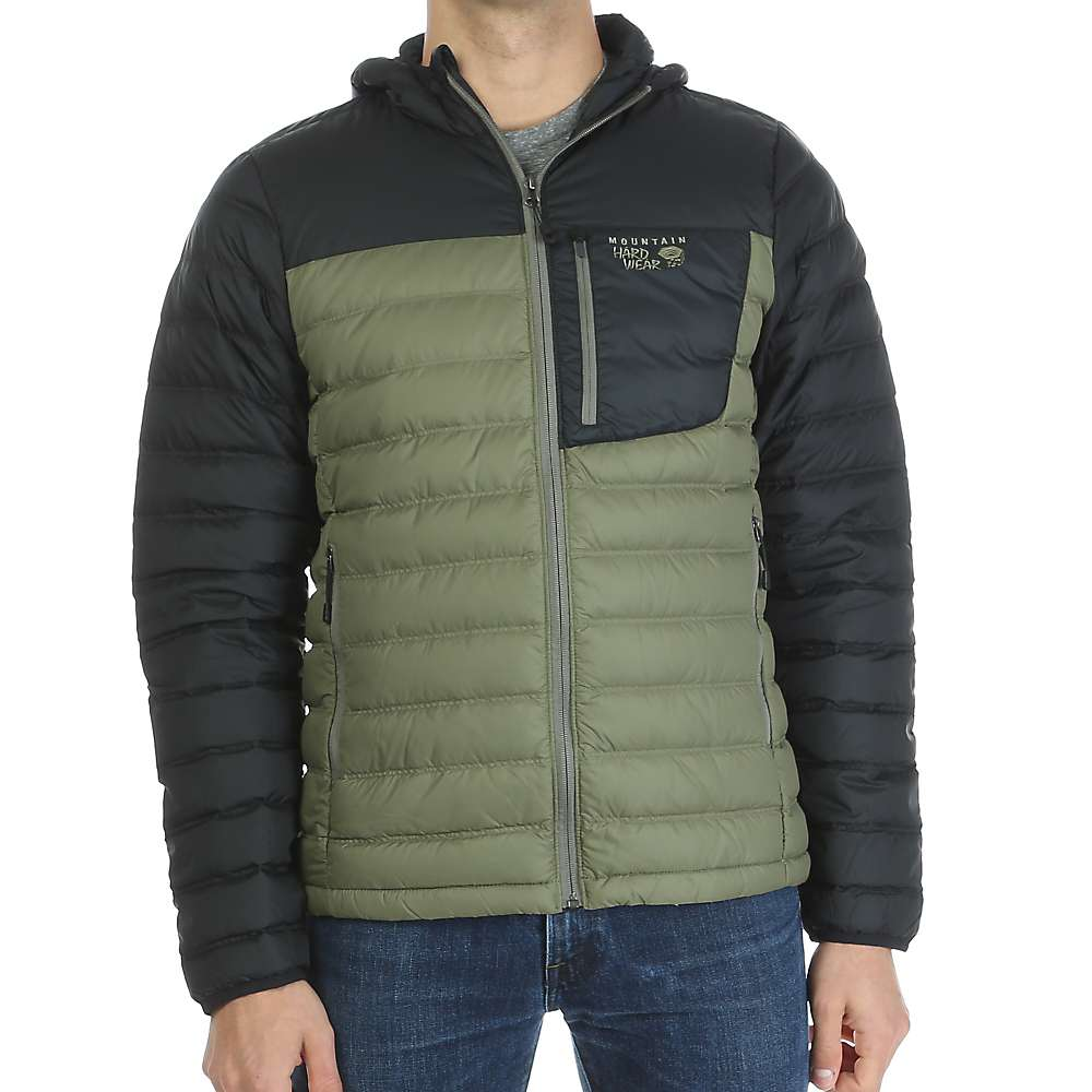 Mountain Hardwear Men's Dynotherm Down Hooded Jacket - at Moosejaw.com