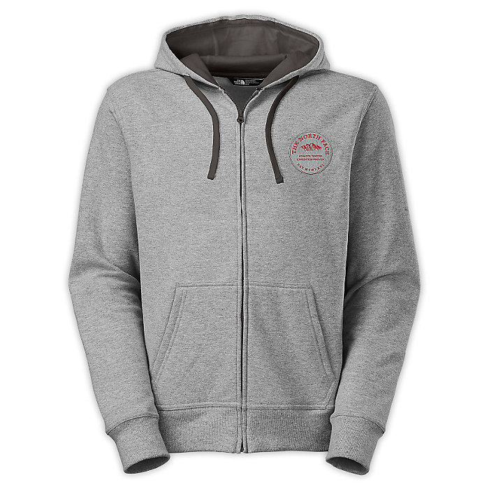 0a3a187f4 The North Face Men's Alpish Logo Patch Full Zip Hoodie - Moosejaw