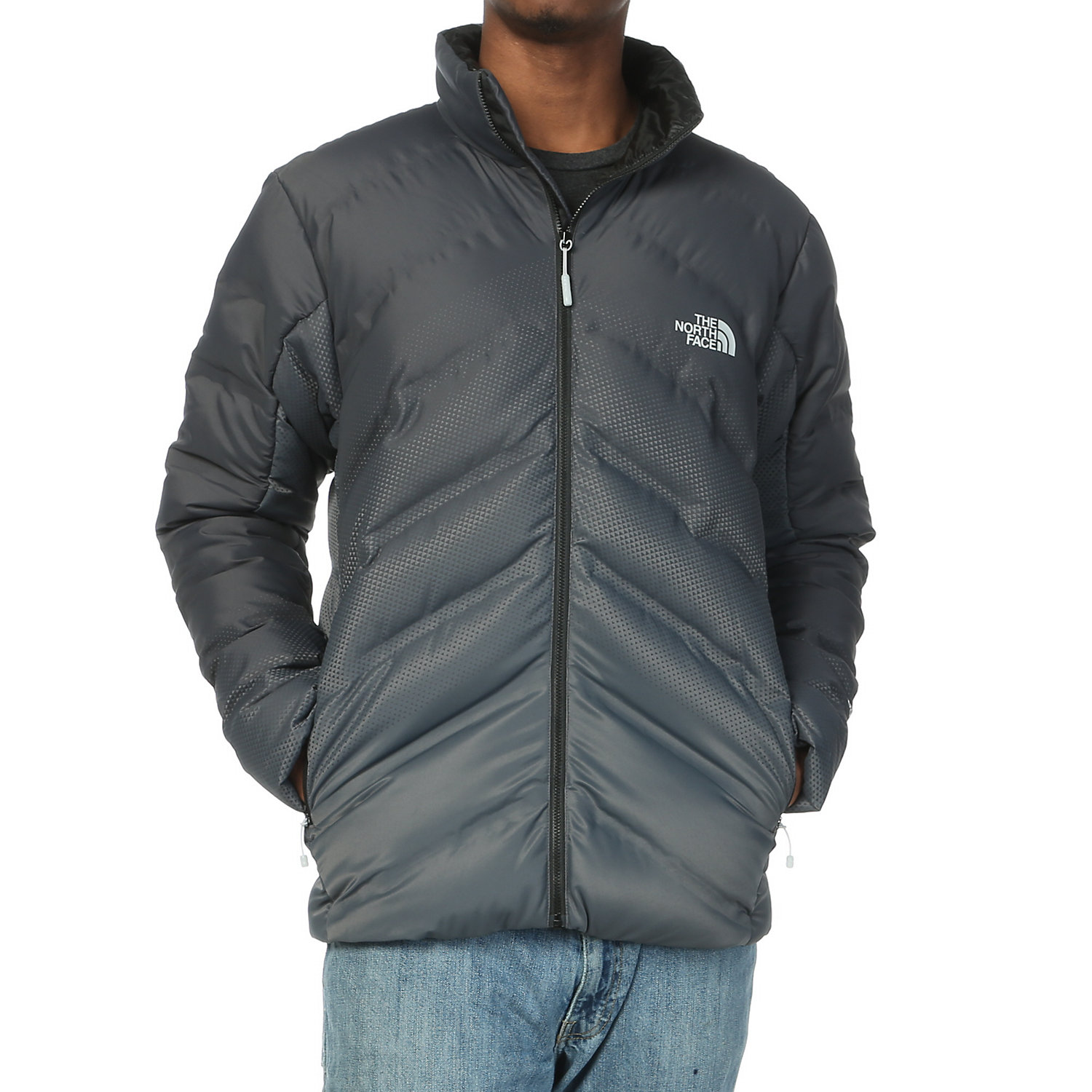 huge discount c43d5 33178 The North Face Men's Fuseform Dot Matrix Down Jacket - Moosejaw