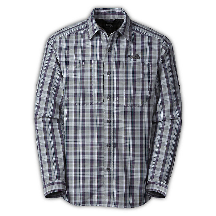 bfb5d5b0e The North Face Men's Plaid L/S Tek Hike Shirt - Moosejaw