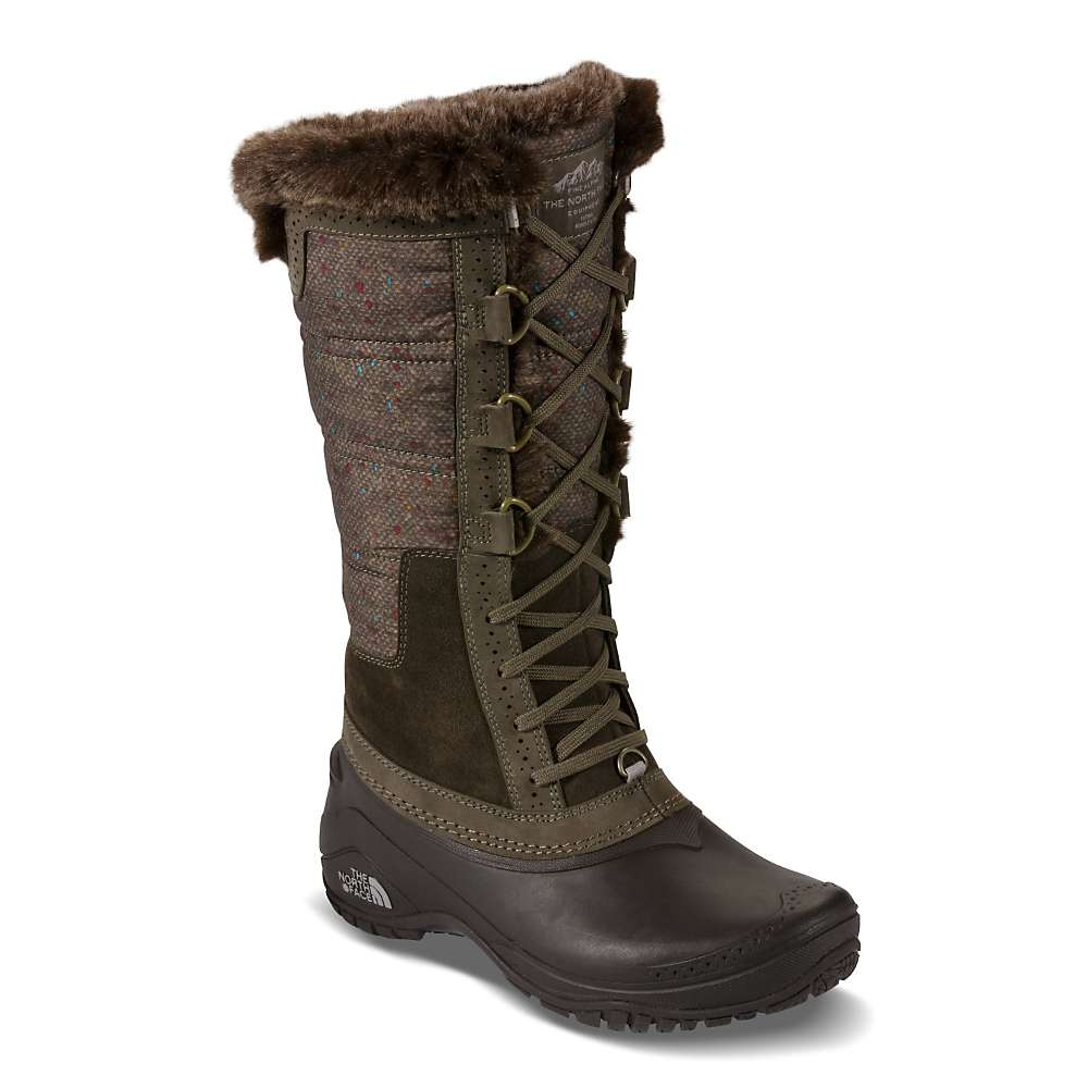 The North Face Women's Shellista Iii Tall Waterproof Insulated Winter Boot bqgBXg1NF
