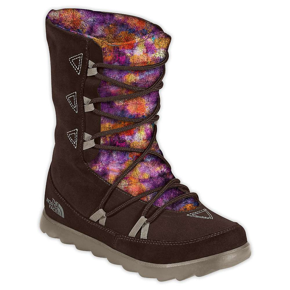 The North Face Women's ThermoBall Apres Bootie. Mulch Brown / Brindle  Brown. 0:00